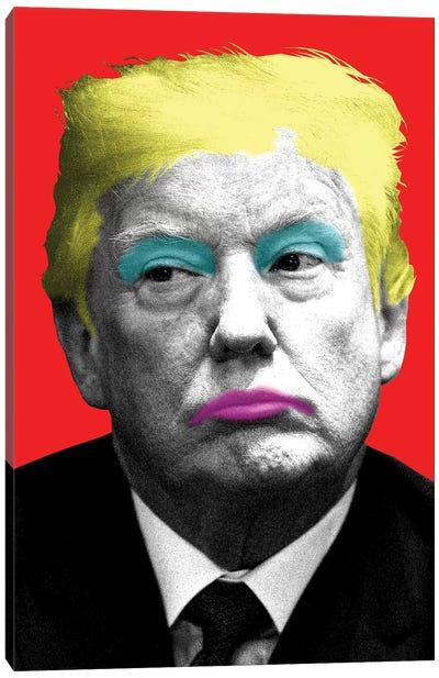 Marilyn Trump - Red Canvas Art Print