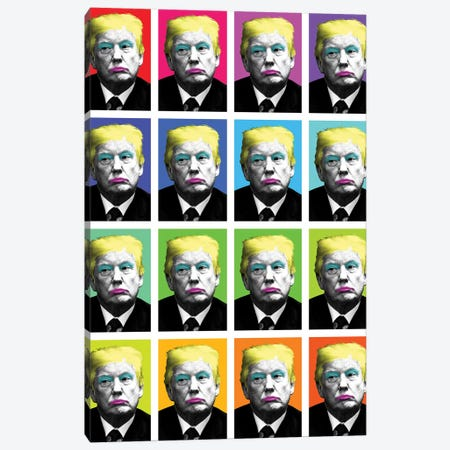 Marilyn Trump X 16 Canvas Print #GHO56} by Gary Hogben Canvas Print