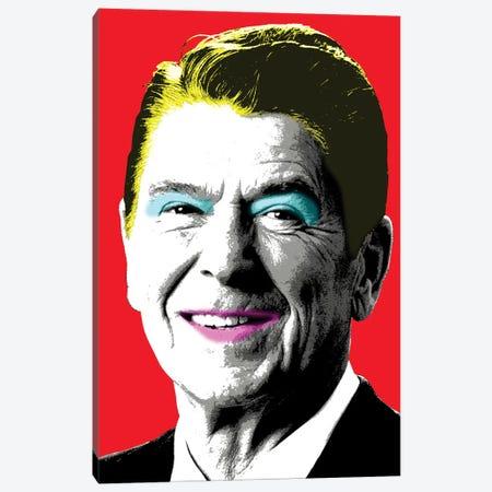 Nancy Reagan - Red Canvas Print #GHO58} by Gary Hogben Canvas Artwork