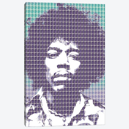 Purple Haze Canvas Print #GHO64} by Gary Hogben Canvas Wall Art