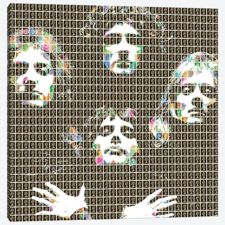 Queen Ii Canvas Print #GHO65} by Gary Hogben Canvas Artwork
