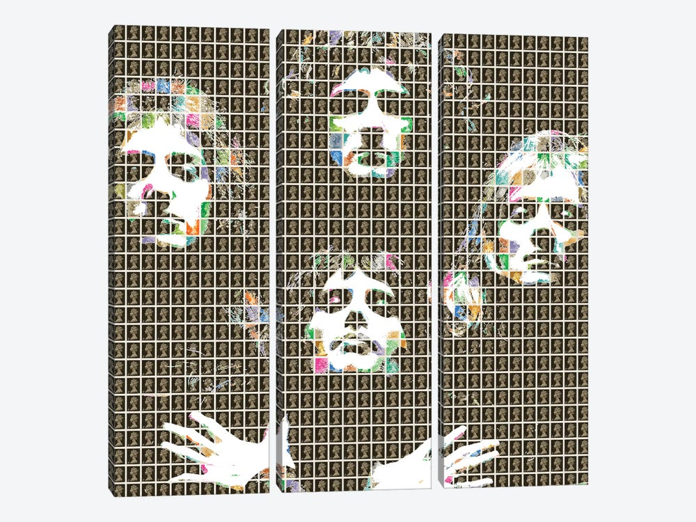 Queen Ii by Gary Hogben 3-piece Art Print