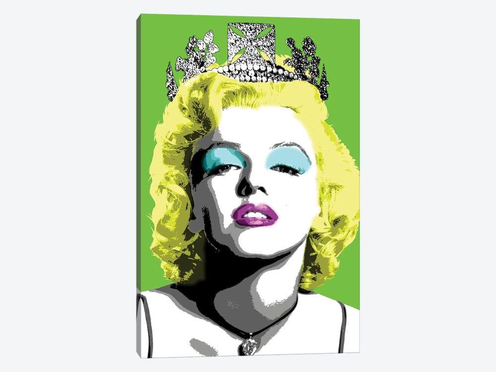 Queen Monroe - Lime by Gary Hogben 1-piece Canvas Print