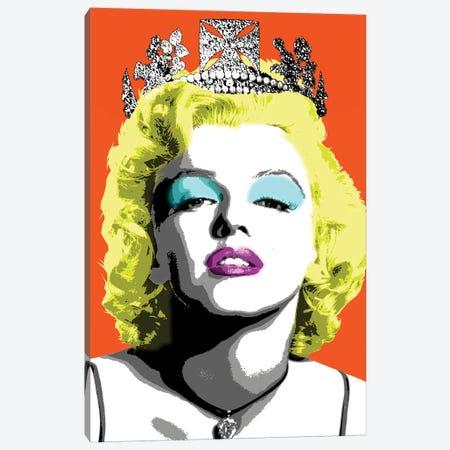 Queen Monroe - Orange Canvas Print #GHO68} by Gary Hogben Canvas Print