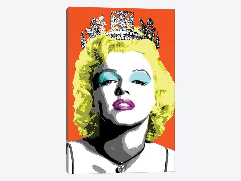 Queen Monroe - Orange by Gary Hogben 1-piece Canvas Art