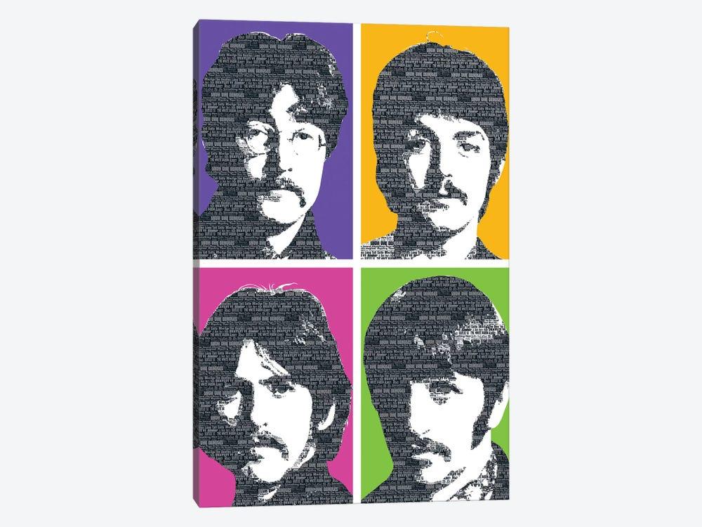 Beatles X 4 by Gary Hogben 1-piece Art Print