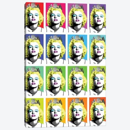 Queen Monroe X 16 Canvas Print #GHO72} by Gary Hogben Canvas Art