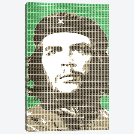 Revolution Green Canvas Print #GHO74} by Gary Hogben Canvas Art Print