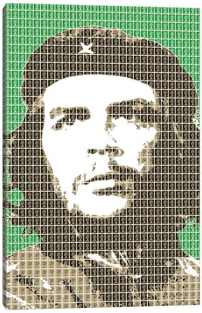 Revolution Green Canvas Art Print