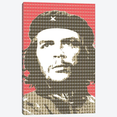 Revolution Red Canvas Print #GHO75} by Gary Hogben Canvas Art Print