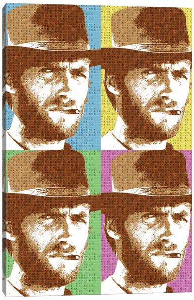 Scrabble Eastwood X 4 Canvas Art Print