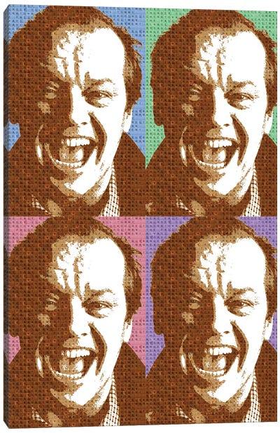 Scrabble Jack Nicholson X 4 Canvas Art Print