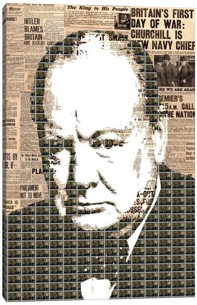 Churchill Canvas Art Print