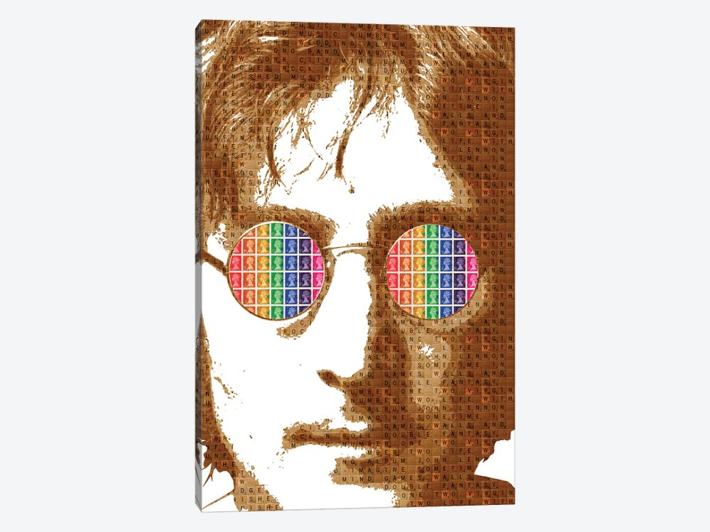 Scrabble Lennon by Gary Hogben 1-piece Canvas Art
