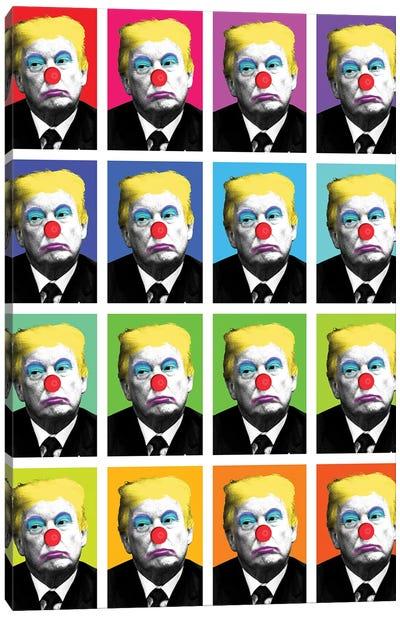 Send In The Clowns X 16 Canvas Art Print