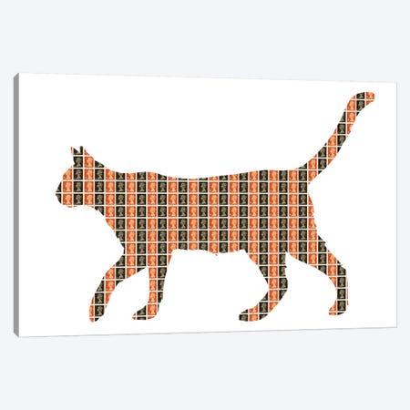 Easy Tiger Canvas Print #GHO8} by Gary Hogben Art Print