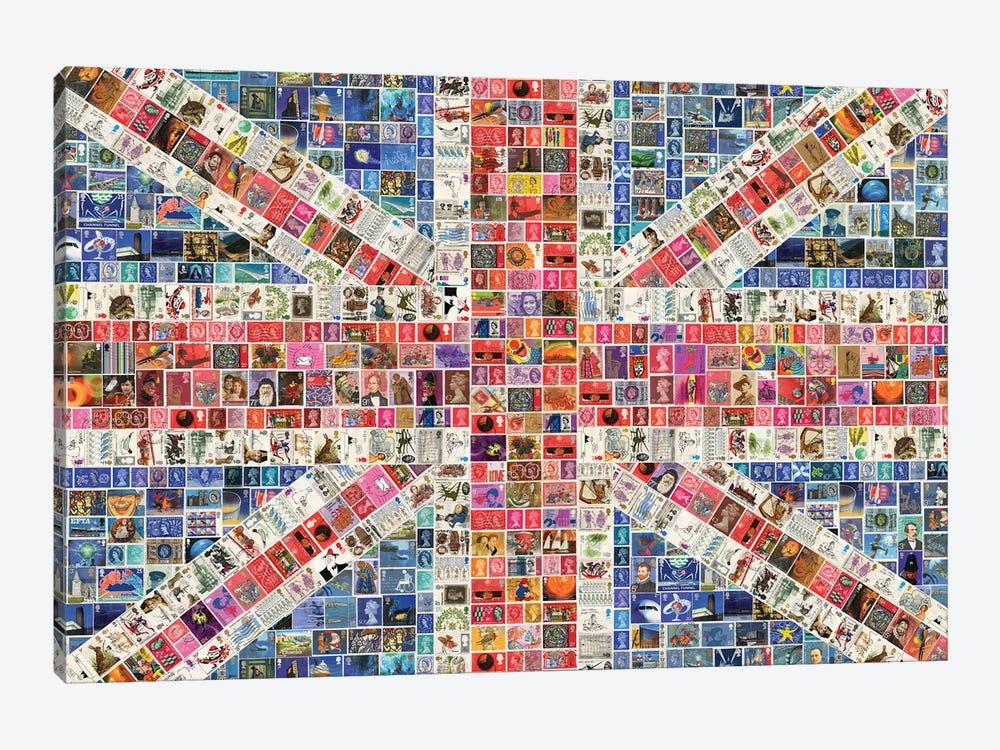 Union Jack by Gary Hogben 1-piece Canvas Print