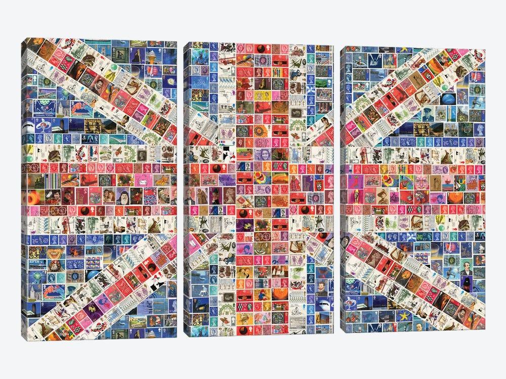 Union Jack by Gary Hogben 3-piece Art Print