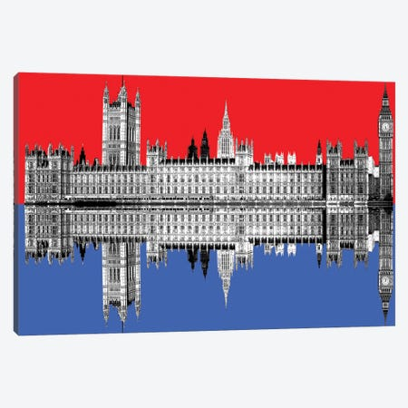 Westminster Canvas Print #GHO93} by Gary Hogben Canvas Wall Art