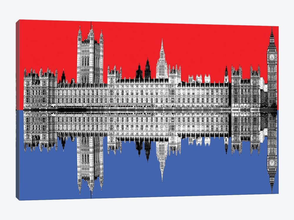 Westminster by Gary Hogben 1-piece Canvas Wall Art