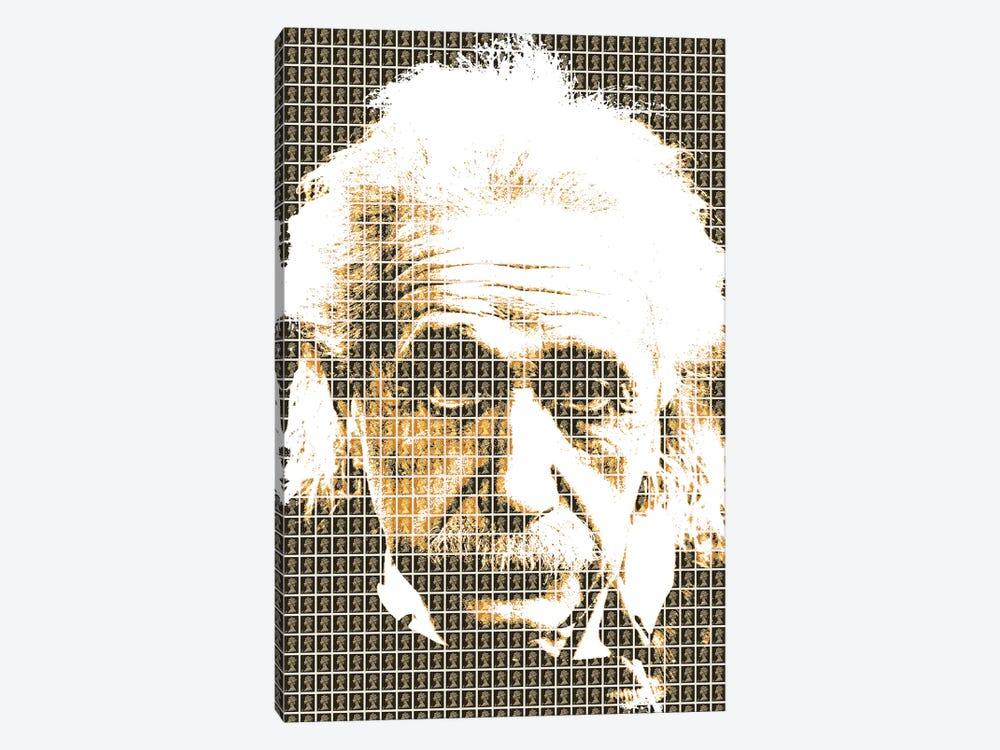 Einstein Black by Gary Hogben 1-piece Canvas Wall Art