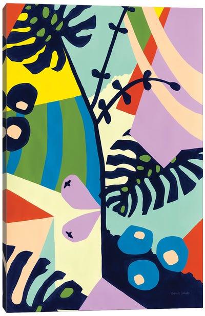 Monstera Deliciosa Canvas Art Print