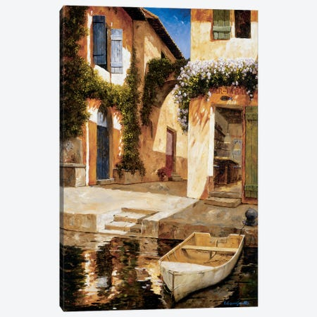 Lunchtime Canvas Print #GIA11} by Gilles Archambault Art Print