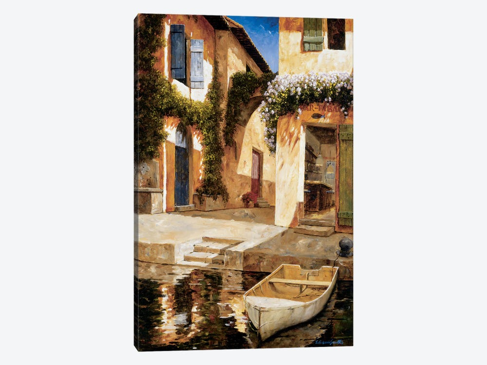 Lunchtime by Gilles Archambault 1-piece Canvas Print