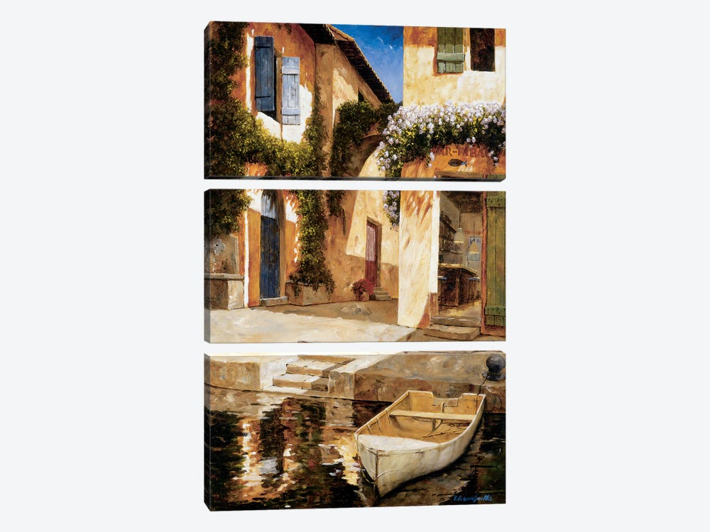 Lunchtime by Gilles Archambault 3-piece Canvas Print