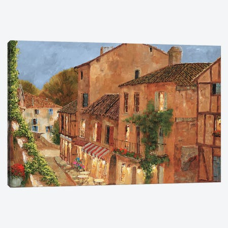 My Balcony Canvas Print #GIA13} by Gilles Archambault Canvas Print
