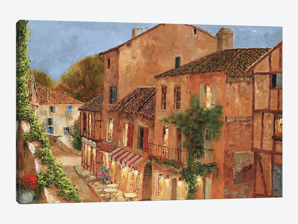 My Balcony by Gilles Archambault 1-piece Canvas Art Print