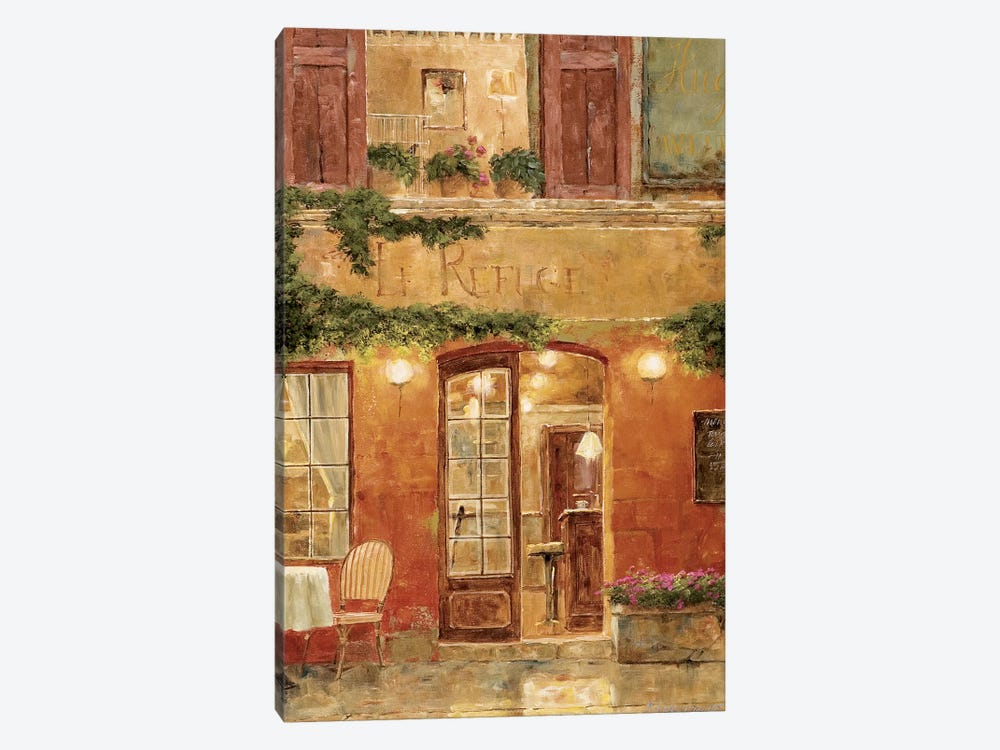 No Reservation Needed by Gilles Archambault 1-piece Canvas Artwork