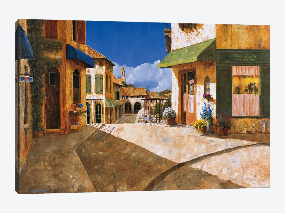 On My Way To The Market by Gilles Archambault 1-piece Canvas Print