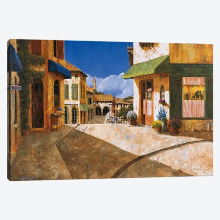 On My Way To The Market Canvas Print #GIA15} by Gilles Archambault Canvas Art