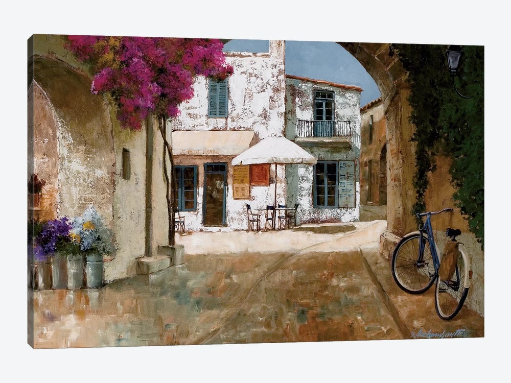 Picking Up Flowers by Gilles Archambault 1-piece Canvas Art