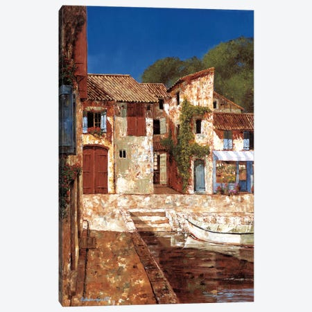 Quiet Days Of Summer Canvas Print #GIA18} by Gilles Archambault Canvas Art Print