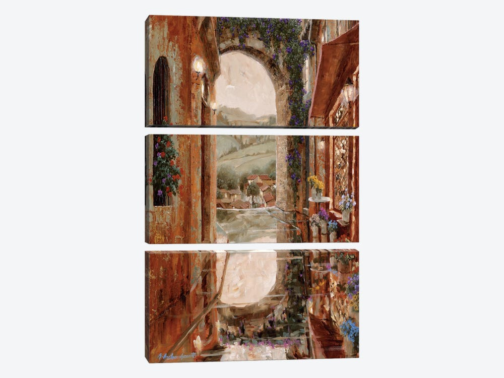 Rainy Days Of Summer by Gilles Archambault 3-piece Canvas Print