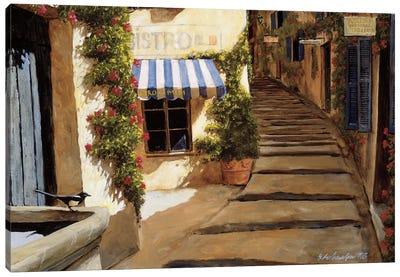 Au Coeur du Village Canvas Art Print