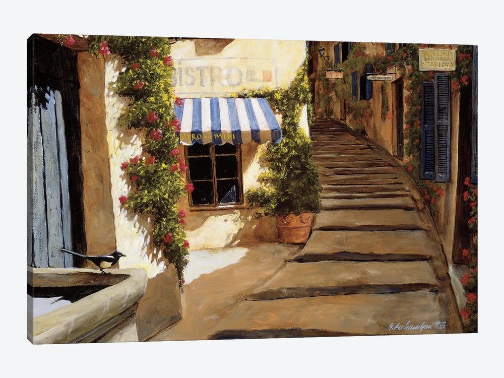 Au Coeur du Village by Gilles Archambault 1-piece Art Print
