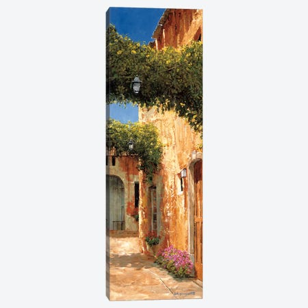 Secret Alley Canvas Print #GIA20} by Gilles Archambault Canvas Wall Art