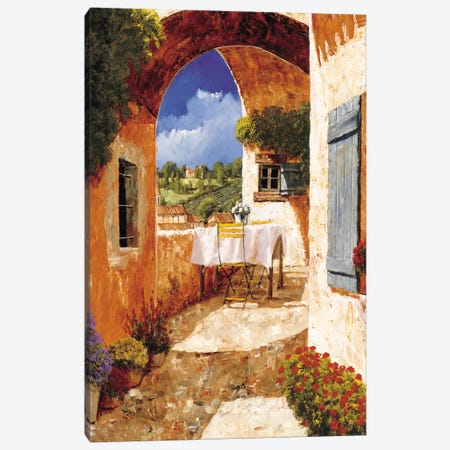 The Days Of Wine And Roses Canvas Print #GIA23} by Gilles Archambault Canvas Artwork