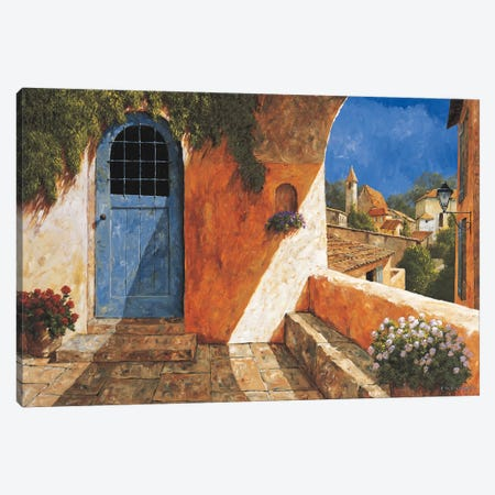 The French Door Canvas Print #GIA24} by Gilles Archambault Canvas Print