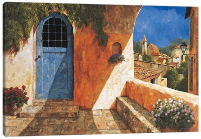 The French Door Canvas Art Print
