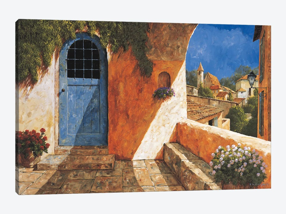 The French Door by Gilles Archambault 1-piece Canvas Art Print