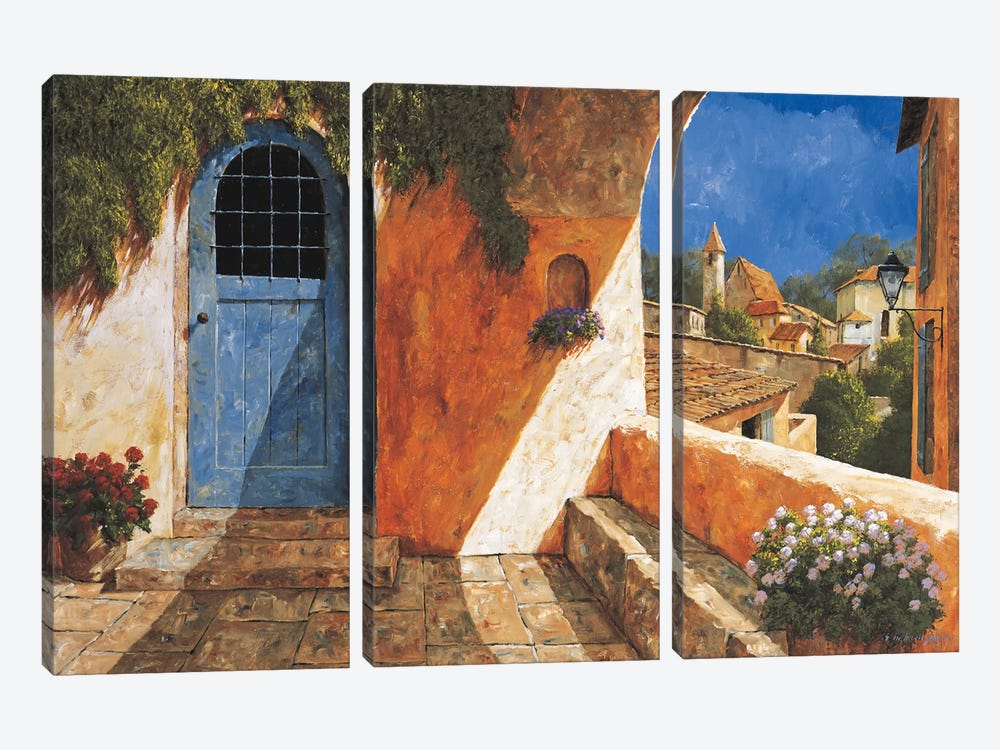 The French Door by Gilles Archambault 3-piece Art Print