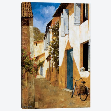 The Visit Canvas Print #GIA25} by Gilles Archambault Art Print
