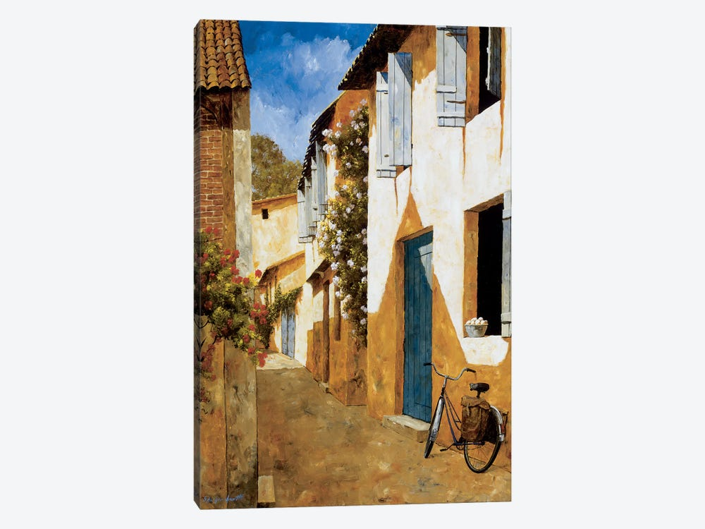 The Visit by Gilles Archambault 1-piece Canvas Wall Art