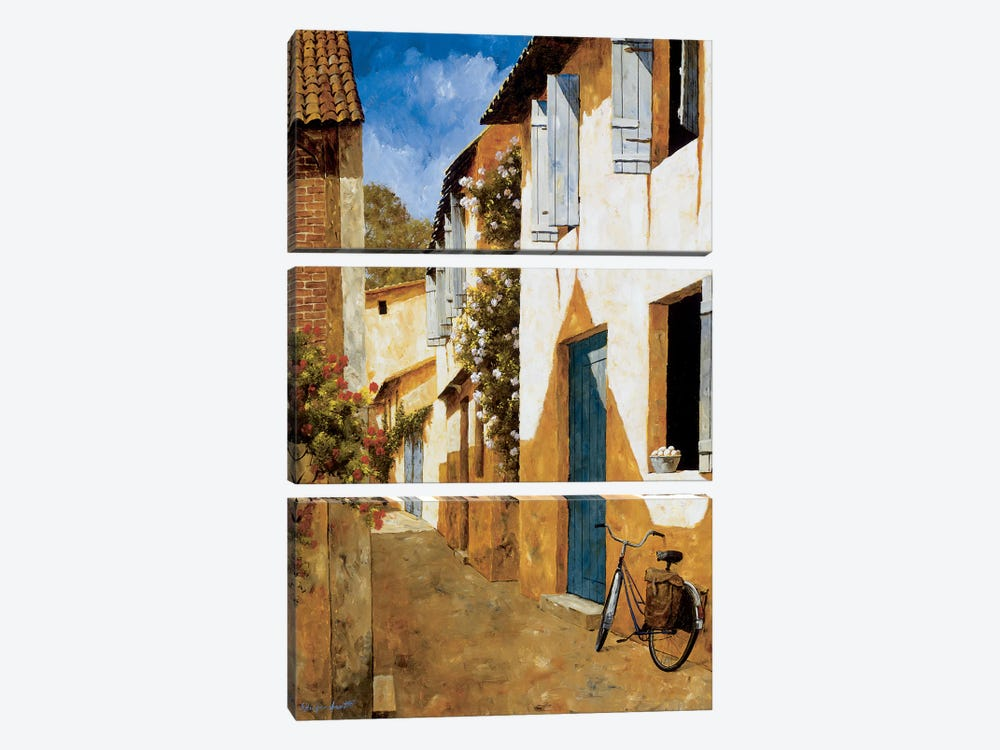 The Visit by Gilles Archambault 3-piece Canvas Art