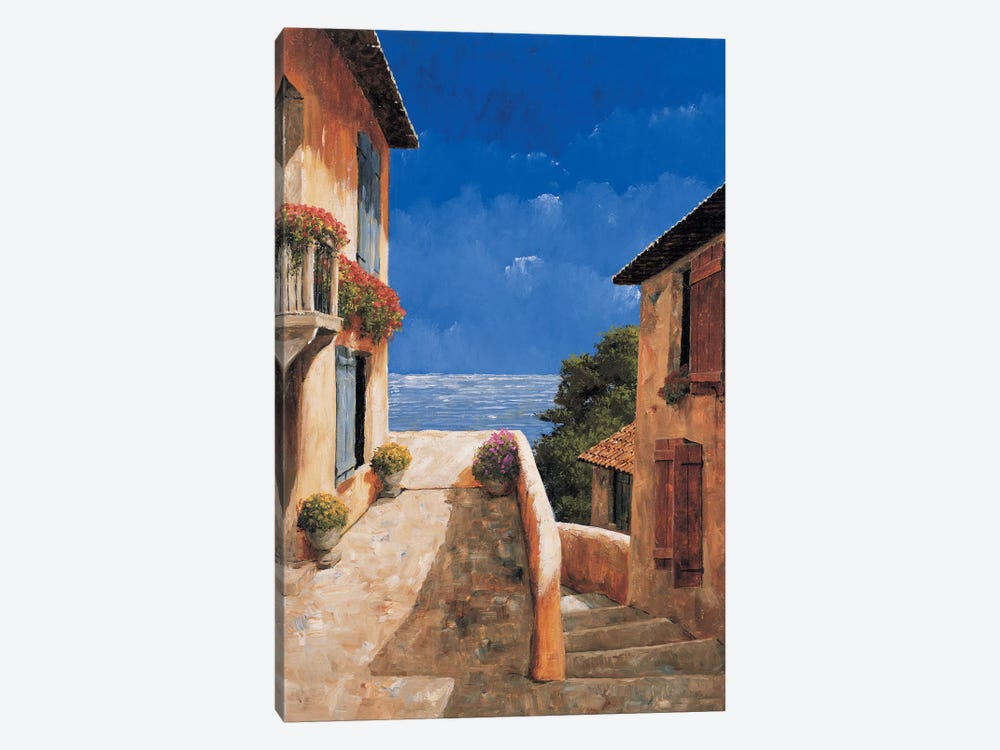 Villa By The Sea by Gilles Archambault 1-piece Art Print