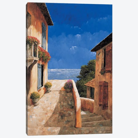 Villa By The Sea Canvas Print #GIA28} by Gilles Archambault Canvas Art